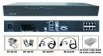 8-port CAT5 KVM Switch Console with OSD